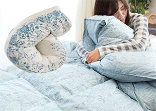 熟睡してほしいその為に西川毛布に暖か羽毛布団で至福の朝を
