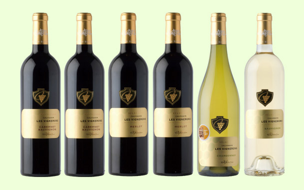 【送料無料】驚異の半額!世界四大ブドウ品種6本セット1本807円