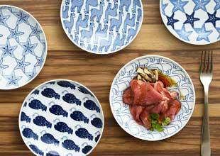 もっとも使用頻度が高いサイズの丸皿。