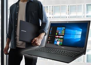 高速SSDと大容量HDD搭載 高性能なシンプルノート!