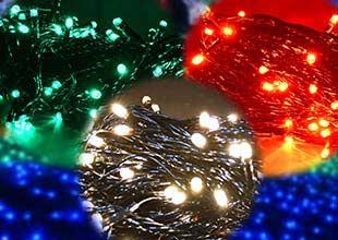 \クリスマスにまだ間に合う/ LEDイルミネーション! 10m