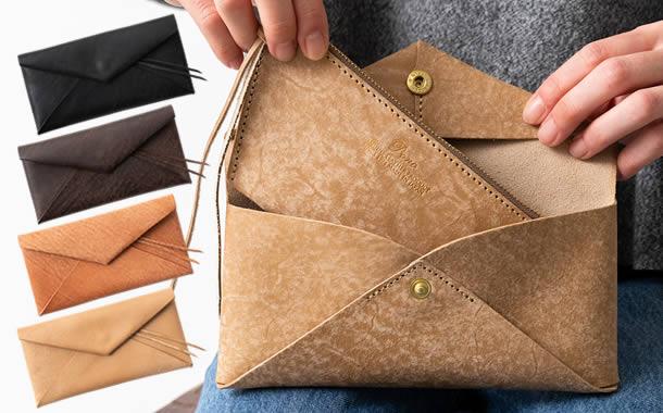 パーツが自由に外せて自分のスタイルで使える軽くて薄い長財布