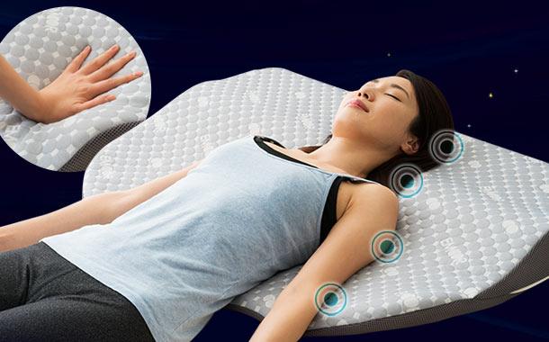 【メーカー希望小売価格より44%OFF】点で体の重さを分散する枕