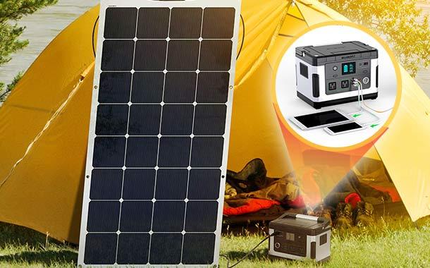 【限定セット】suaoki ポータブル電源 G500 ソーラーパネル150W